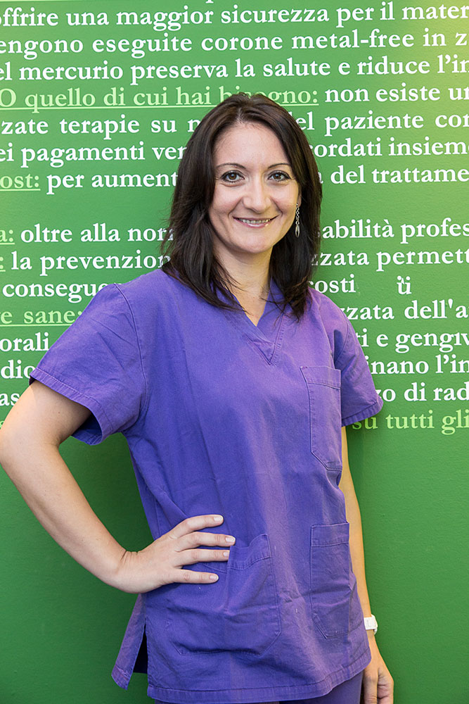 Staff dello studio dentistico Tiziano Caprara