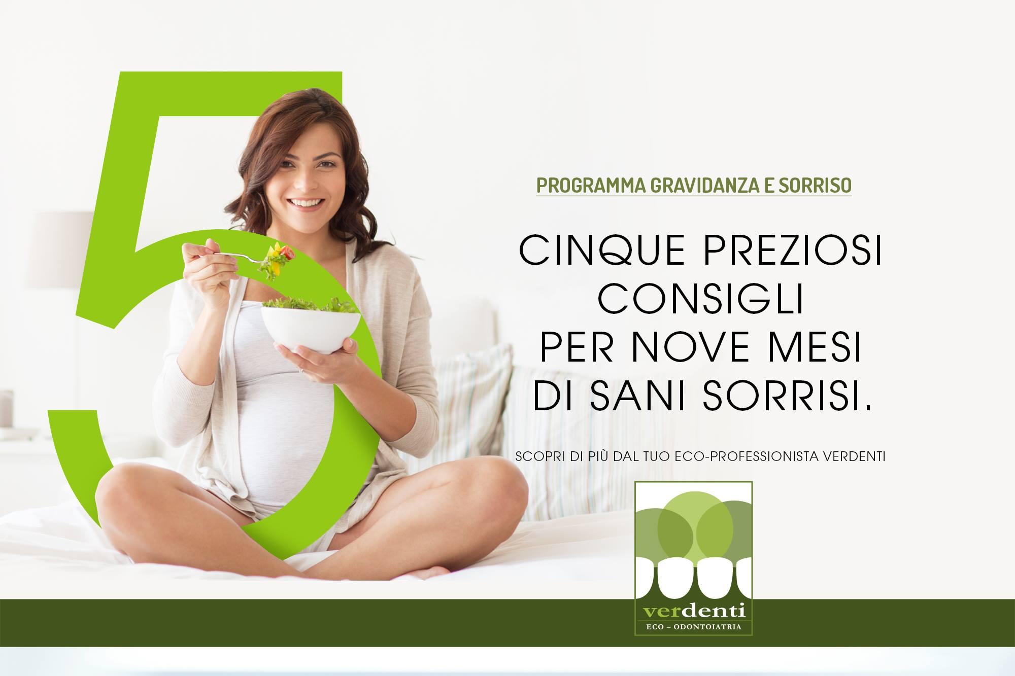 Problemi gengive in gravidanza