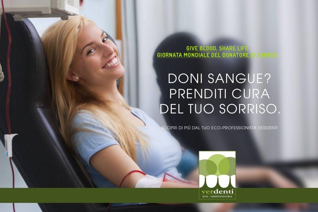 donatore e gengive sane
